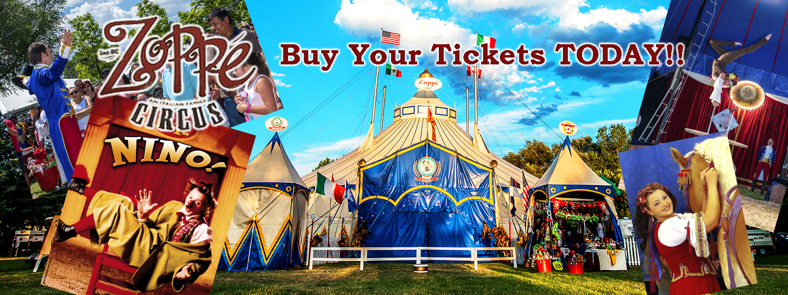 Circus Tickets On Sale NOW!