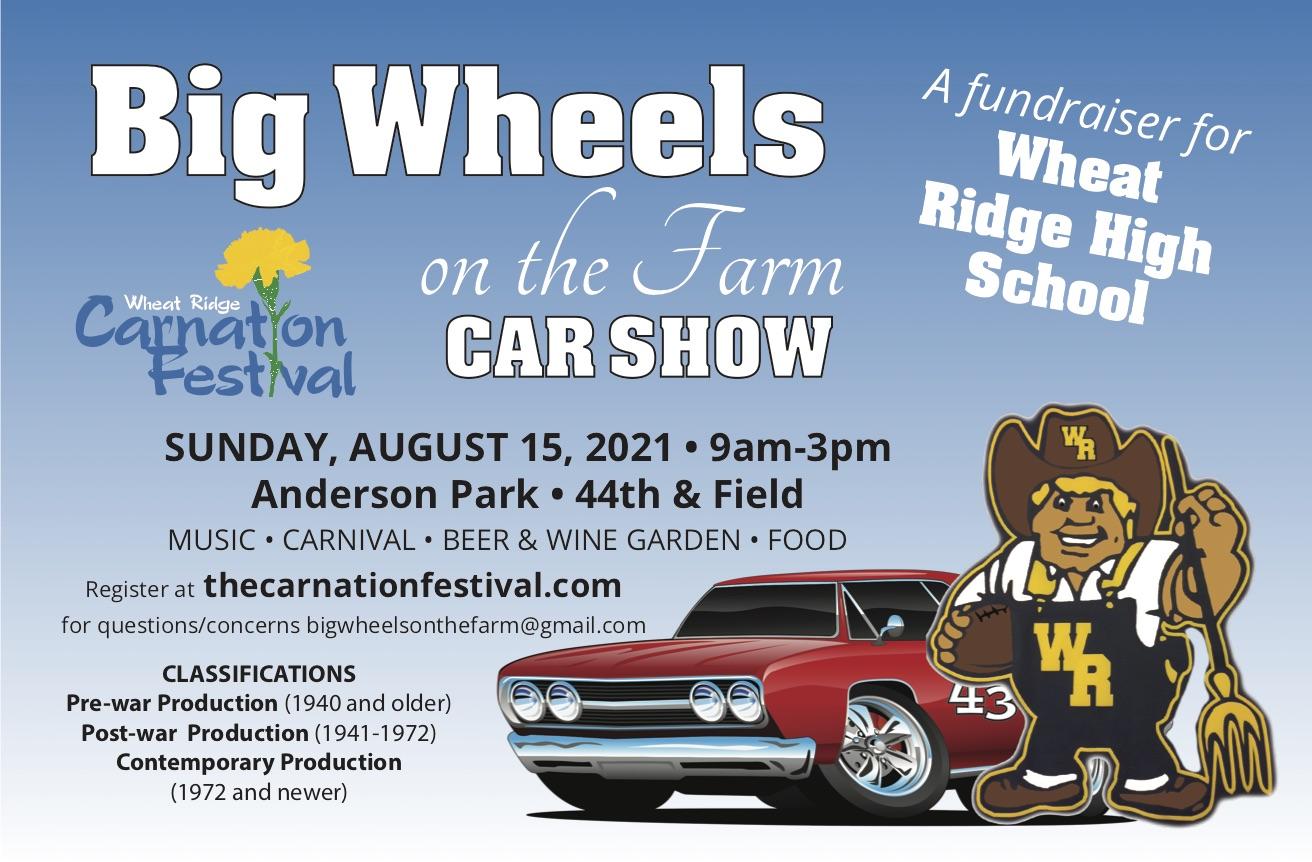 Wheat Ridge Carnation Festival Car Show